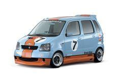 Hamamatsu, Civic Car, Photo Collage Design, Suzuki Wagon R, Japanese Cars, Custom Cars, Race Cars, Running, Retro