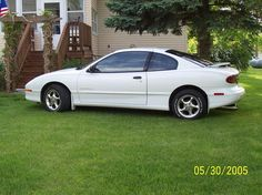 Pontiac Sunfire! My first car when I turned 16....I thought I was so cool.