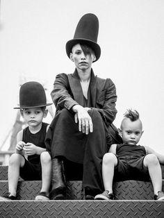 Lily Gatins & crew.