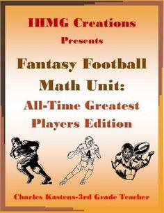 This resource is a TOUCHDOWN!!!!In this product, students work alone or in teams to create a fantasy football team based on the all-time greatest players at their respective positions.  Players are ranked and valued based on career statistics and rosters are built using a $225 budget.