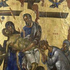Byzantine Icons, Christian Church, Orthodox Icons, Sacred Art, Religious Art, Art And Architecture, Fresco, Jesus Christ, Statue