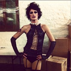 Ivy Winters as Frankenfurter!