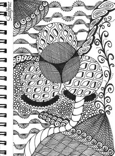 Saidfraz zentangle 08072014.4