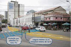 Construa vias arteriais que garantam segurança para todos os usuários  Vias arteriais urbanas geralmente possuem mais faixas e altos volumes de tráfego, portanto, os carros andam em velocidades maiores. Isso contribui para que sejam locais com maior ocorrência de graves atropelamentos e colisões entre veículos. Intervenções certas podem mudar esse cenário. Faixas de travessia de pedestres, canteiros centrais, ilhas de refúgio no canteiro central, controle semafórico e equilíbrio de faixas…