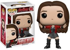 Buy Marvel Avengers Age of Ultron Scarlet Witch Funko Pop! Vinyl Bobblehead from Pop In A Box UK, the home of Funko Pop Vinyl subscriptions and more. Scarlet Witch Marvel, Scarlet Witch Costume, Funko Pop Marvel, Marvel Avengers 2, Ms Marvel, Marvel Comics, Captain Marvel, Baby Avengers, Avengers Characters