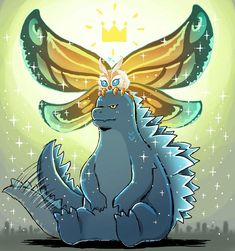 See more 'Godzilla' images on Know Your Meme! King Kong, Godzilla Comics, Godzilla Godzilla, Godzilla Wallpaper, Fanart, Monster, Cute Art, Character Art, Fantasy Art