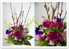 Valentine's Day bouquet by Living fresh