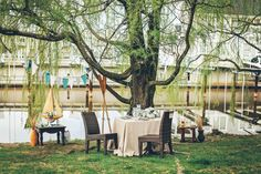 Outdoor lake wedding - Tie the Knot: A Harbor Grand Style Shoot | WeddingDay Magazine