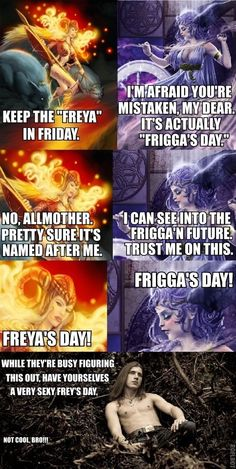 Asgard, we have a problem. Maybe it's just the day for celebrating fried foods...?