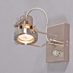 Shop for Wall lamp Suplux 1 steel online! Lamp, Brighten, Sconces, Steel, Wall Lamp, Wall Lights, Bedroom Lighting, Home Decor, Lights