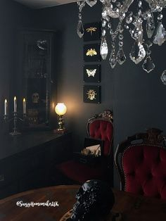 Victorian Gothic Dining Room - The World of Suzy Homemaker - www.suzyhomemaker.co.uk | @SuzyHomemakerUK