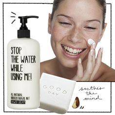 blank - morning pure routine - COFFEEDENTIAL #face #clean #white
