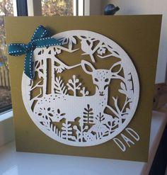 Cricut Four Seasons For Christmas Card
