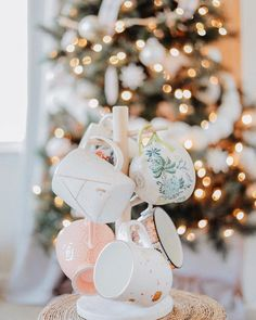 Explore Anthropologie's unique coffee mugs and teacups that make the perfect gift for yourself or a loved one. Shop our iconic monogram mugs and more. Anthropologie Instagram, Anthropologie Mugs, Little Christmas, Christmas Holidays, Merry Christmas, Holiday Photos, Holiday Gifts, Merry And Bright, Mugs Set