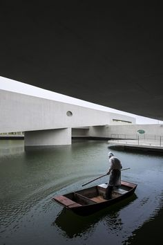 Building on Water • Huai'an, China - Álvaro Siza Vieira + Carlos Castanheira