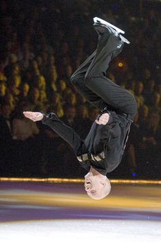 Scott Hamilton - the first figure skater to do a backflip on ice
