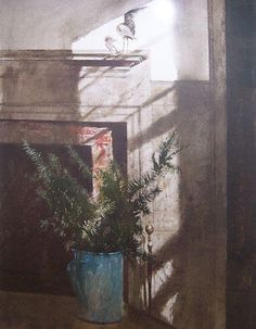 bird in the house / andrew wyeth