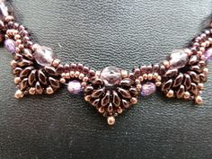 Bijou bead design - gotta love those SuperDuo beads.