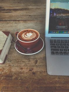 laptop lifestyle with a side of chaga latte :)