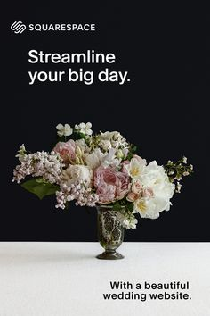 Create a stunning website for your big day with Squarespace. Start a free trial today.