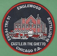 CHICAGO FIRE DEPARTMENT ENGINE 84 TRUCK 51 COMPANY PATCH