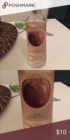The Body Shop shea body mist 90% full | smells really good | I'm not able to wear it anymore because it irritates my eczema so I figured someone else might want it The Body Shop Other
