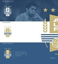 """Análisis de marca y propuesta de rediseño para la identidad visual de la """"Asociación Uruguaya de Fútbol"""" (A.U.F.) Rebranding proposal for """"Uruguayan Football Association"""" (A.U.F.)"""