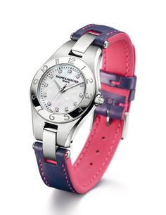 Reinventa el look de tu reloj Baume & Mercier 27 mm con las correas intercambiables bicolor