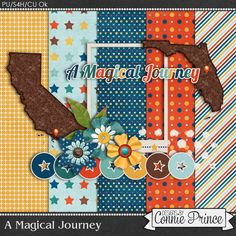 Connie Prince Digital Scrapbooking News: Magical Mousestery Tour - A Magical Journey Blog Train
