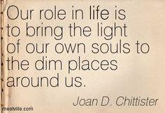 ~ joan chittister