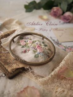 *Claire closet*恵比寿教室2012(8月~11月)レッスンのご案内 : 東京・自由が丘 井上ちぐさの刺繍&カルトナージュ教室 Atelier Claire(アトリエクレア)