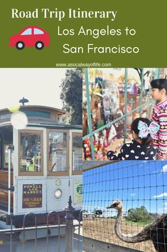 Are you considering a road trip from Los Angeles to San Francisco? Check out our Epic Road Trip Itinerary for a road trip from Los Angeles to San Francisco!