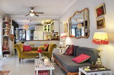 Resultado de imagen de decoracion salones bohemios
