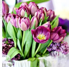 centerpieces for wedding purple - Google Search