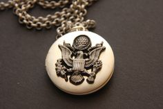 For the next deployment ~ Keep your Hero close to your heart with the Army in Love Locket