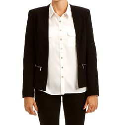 MONCEAU BLAZER BLACK via Jascha online store. Click on the image to see more!