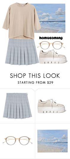 """""""Homecoming"""" by katerinabocharova ❤ liked on Polyvore featuring Mancienne, Thom Browne and Chicnova Fashion"""