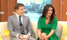 Susanna Reid was joined by Ben Shephard on the GMB sofa