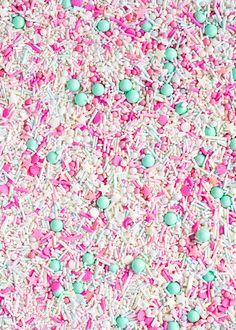 Jersey Shore Sprinkle Medley Pastel Sprinkles Pink by Sweetapolita