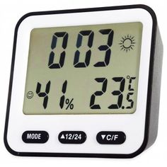 BK - 854 Multifunction Digital Thermometer Hygrometer Alarm Clock Digital Thermometer, Temperature And Humidity, Digital Alarm Clock, Home Improvement, Appliances, Gadgets, Accessories, Home Appliances, Home Improvements