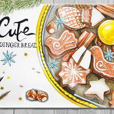 Имбирные пряники пожалуй самое вкусное лакомство на новый год!🍭🍪 Вдобавок еще и красивое, особенно если их правильно разложить. Кофе и сериальчики добавить по вкусу)) #lk_newyear #newyear #merrychristmas #winter #december #cozy #happynewyear #gingerbread #cute #sweet #art_markers #aquarell #markers #скетч #новыйгод #рождество #пряники #акварель #маркеры #творчество #рисунок #печеньки #милашка #illustration #cacao #sketch #уют #зима #декабрь #sketchfest