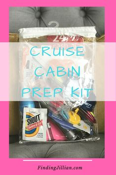 Cruise Cabin Prep Kit