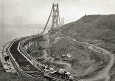 Golden Gate Bridge 1936
