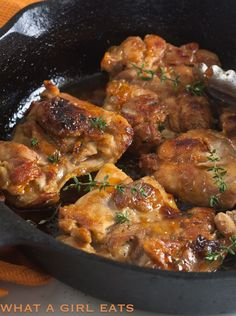 Apricot and Ginger Glazed Chicken…ready in under 30 minutes…3 simple ingredients.
