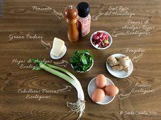 Tortilla de Acelgas Rojas Ecológicas   Mise en Place Eggs, Breakfast, Chicken Stuffed Peppers, Cod, Vegetable Gardening, Red, Mise En Place, Morning Coffee, Egg