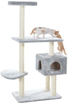 Gleecat 57 in. Cat Tree >>> If you love this, read review now : Cat Beds and Furniture