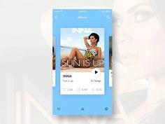 Dribbble - Music ios App by Srikant Shetty