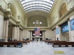 Union Station.  Chicago, Illinois.