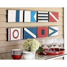 Nautical++dog+Wall+Murals | Home Decorating with Red Nautical and Coastal Style