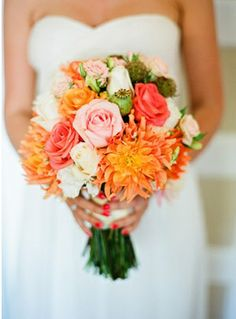 Sparkle & Hay Wedding Blog: Inspirations for a Rustic Chic Wedding: Sunday Bouquet
